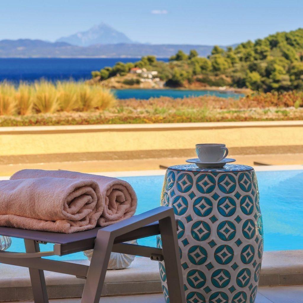 Zimmer mit Pool im Miraggio Thermal Spa Resort