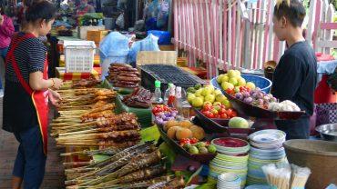 Essen auf Reisen - Streefood in Laos