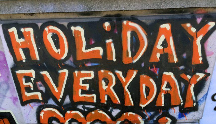 Holiday everyday? Braucht unsere Reise-Freiheit Regeln?