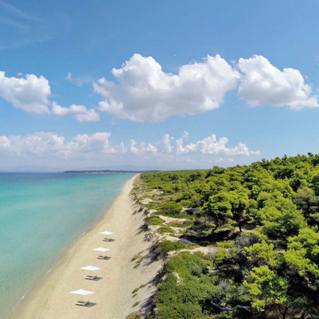 Sani Beach Strand